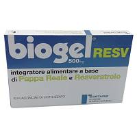 BIOGEL RESV 10FL 500MG