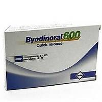 BYODINORAL 600 15CPR